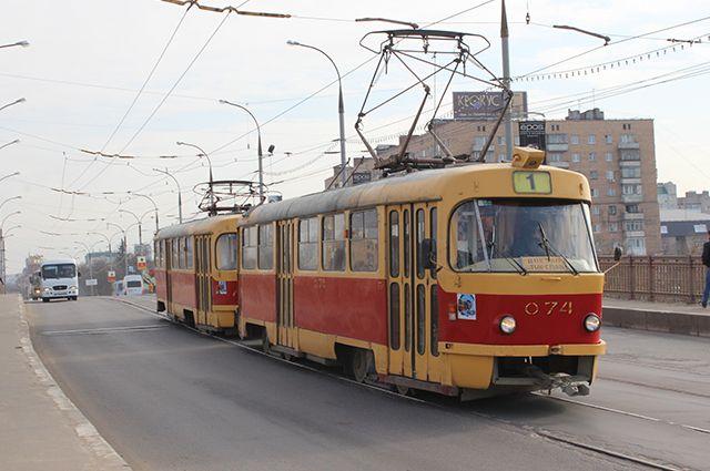 В выходные будет ограничено движение трамваев на Керамику