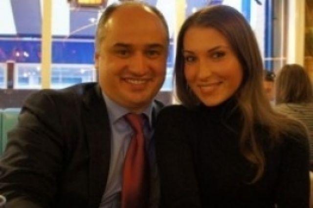 Олег Кондрашов с женой Александрой