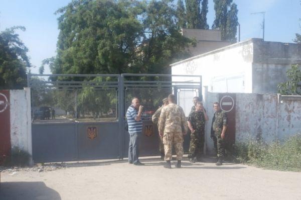 Взрыв в военкомате Одессы