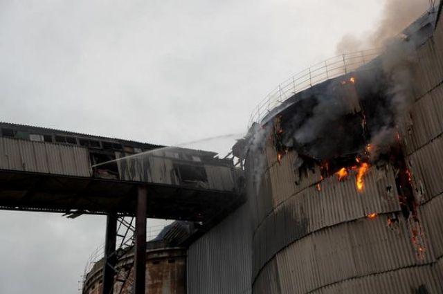 Пожар на площадке «Уралмашзавода» полностью потушили