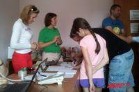 В киевском Центре помощи переселенцам