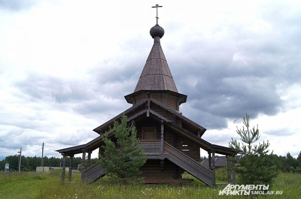 Храм в честь святого князя Владимира.