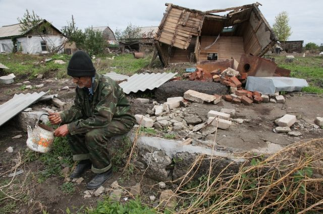 Последствия паводка на Южном Урале летом 2013 года.