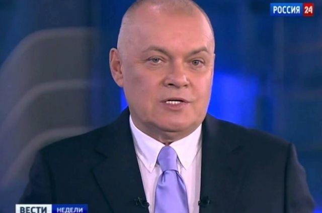 Дмитрий Киселев, руководитель информагентства «Россия сегодня»