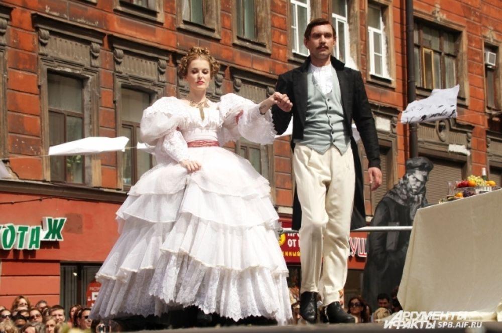 Гости праздника стали зрителями театрализованного представления.