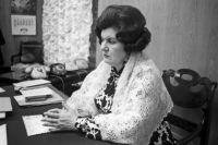 Наталья Петровна Бехтерева. 1974 год.