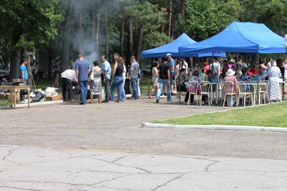 Палатки с татарской кухней