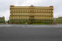 Здание Федеральной службы безопасности РФ (ранее НКВД, КГБ СССР) на Лубянской площади в Москве.