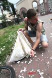 Подушечный бой прочно вошёл во флешмоб-культуру, бои происходят на улицах многих городов.