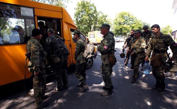 Боевики покидают Краматорск