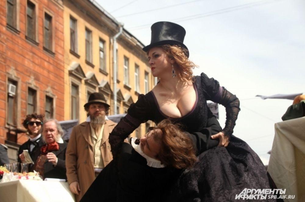 Жорж Санд танцевала в обнимку с Шекспиром.