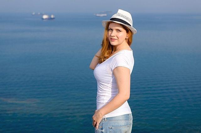 Анастасия Денисова во Владивостоке.