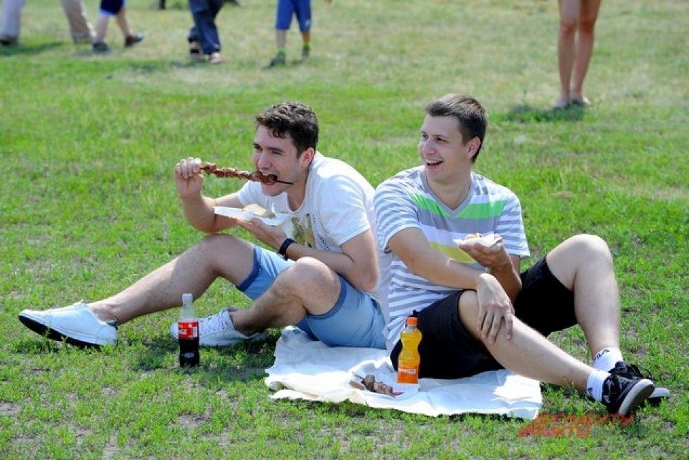 Омичи на Городском пикнике.