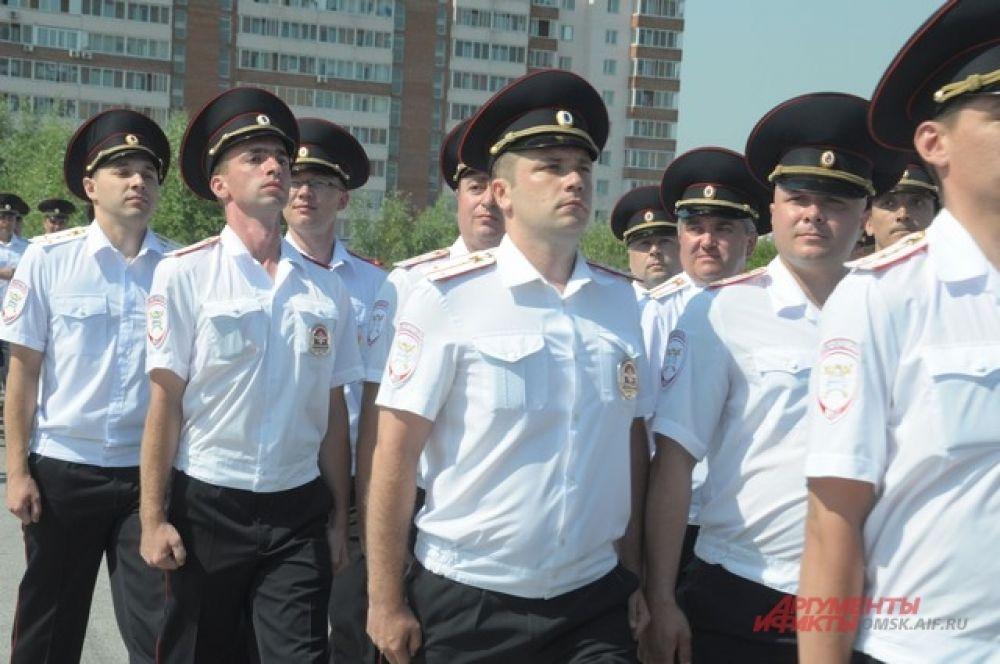В Омске прошел День ГИБДД.