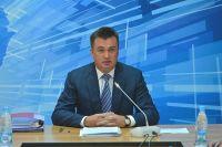 Владимир Миклушевский на выездном заседании в Спасском районе.
