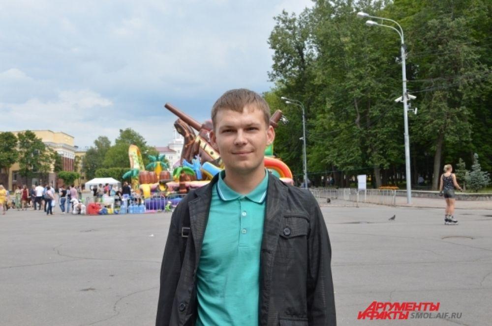 Егор Антоненков: «Наверное, главное в семье это любовь и взаимопонимание, а остальное приложиться».