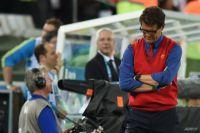 Фабио Капелло после матча между сборными России и Алжира.