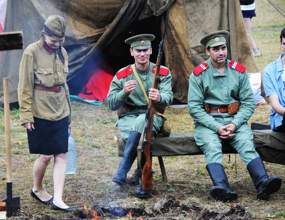 03.Нашли себя здесь и военно-исторические клубы.