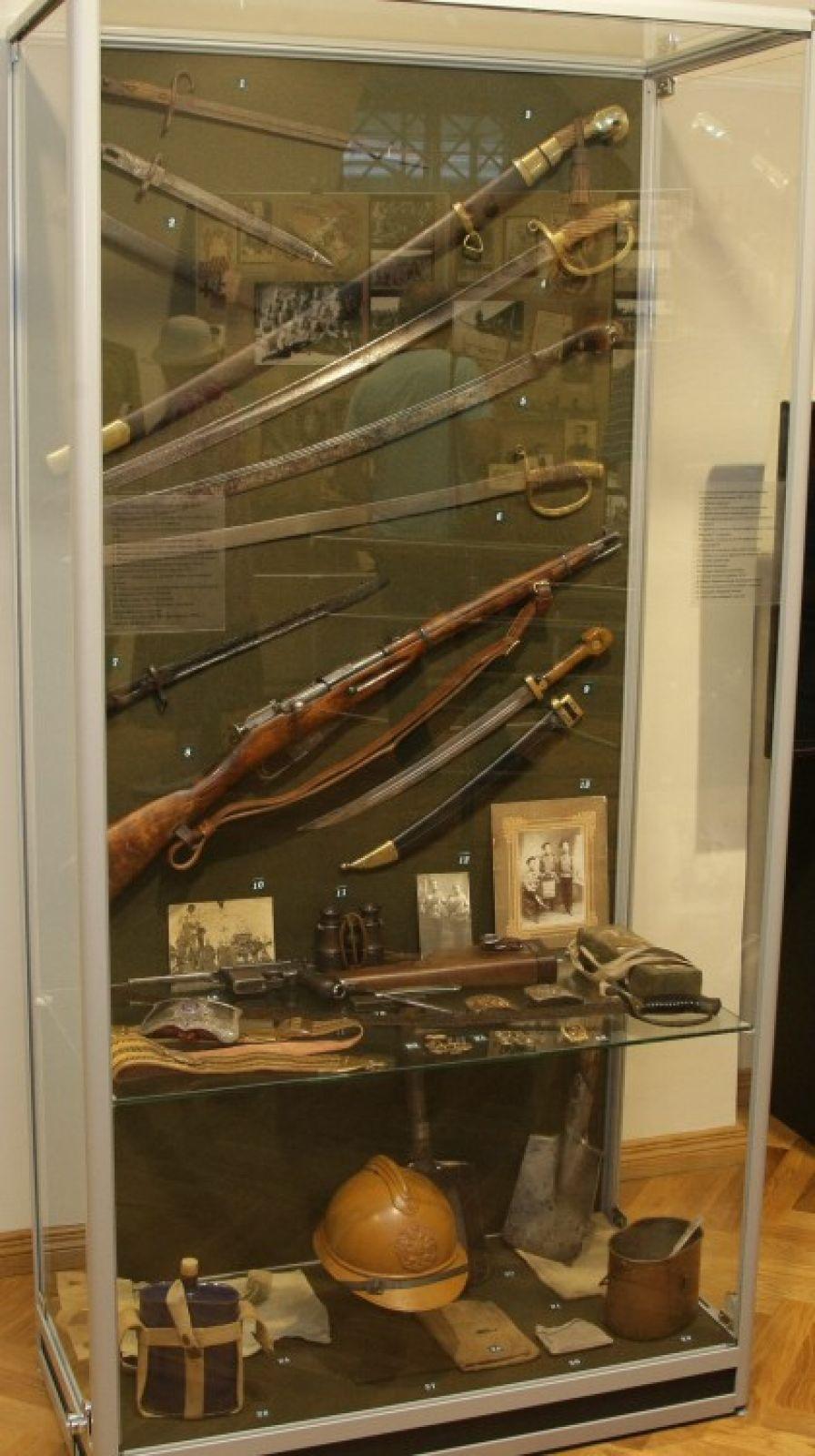 Настоящее оружие времён Первой мировой.