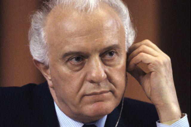 Эдуард Шеварднадзе, 1986 год.