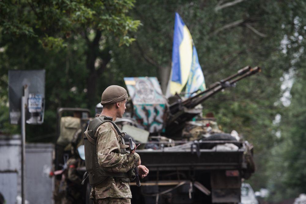 Силы АТО освободили город Славянск