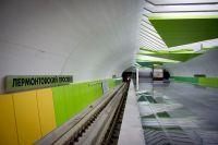 Внутренний интерьер строящейся станции «Лермонтовский проспект», которая расположена на Таганско-Краснопресненской линии Московского метрополитена на перегоне «Выхино» – «Котельники».