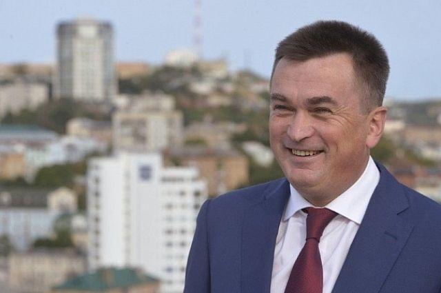 Глава Приморья Владимир Миклушевский.