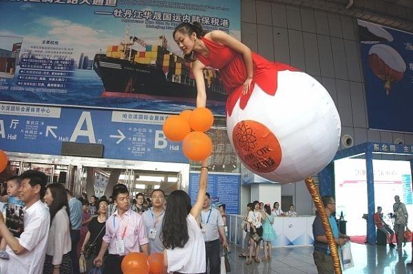 Полёт на шаре по-китайски.
