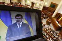 Янукович выступает по ТВ