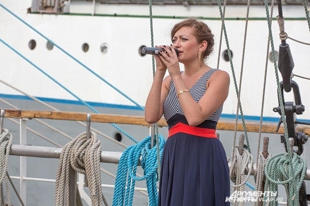 Концерт для экипажа парусника.