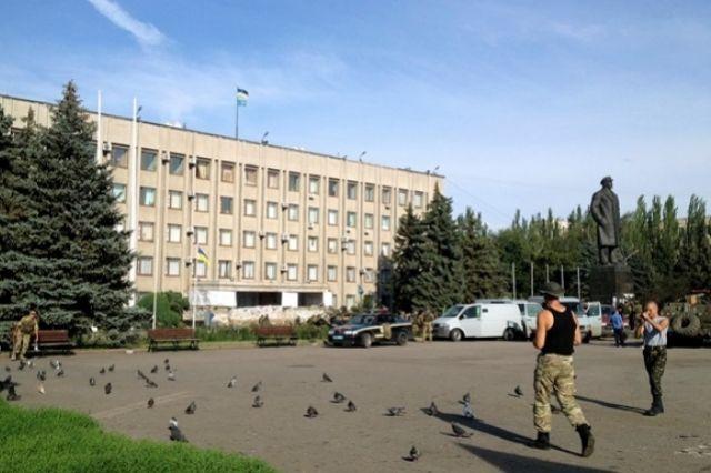 Памятник Ленину, Краматорск