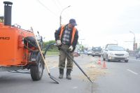 Ремонтом дорог займутся в Омской области.
