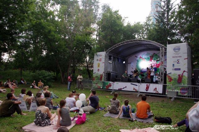 Фестиваль «Усадьба Jazz» в Екатеринбурге собрал около 8 000 человек