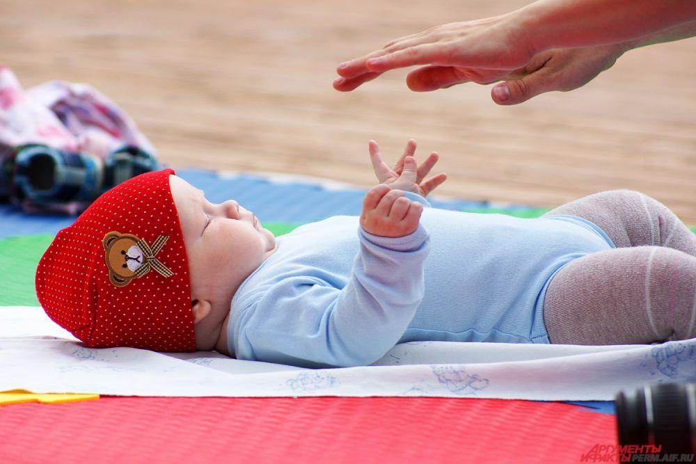 Дети были главными звездами на празднике в Парке Горького.