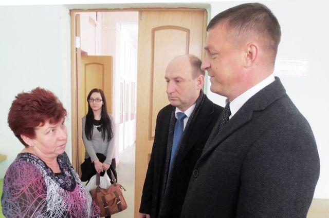 На фото - Евгений Павлов и Николай Алашеев.