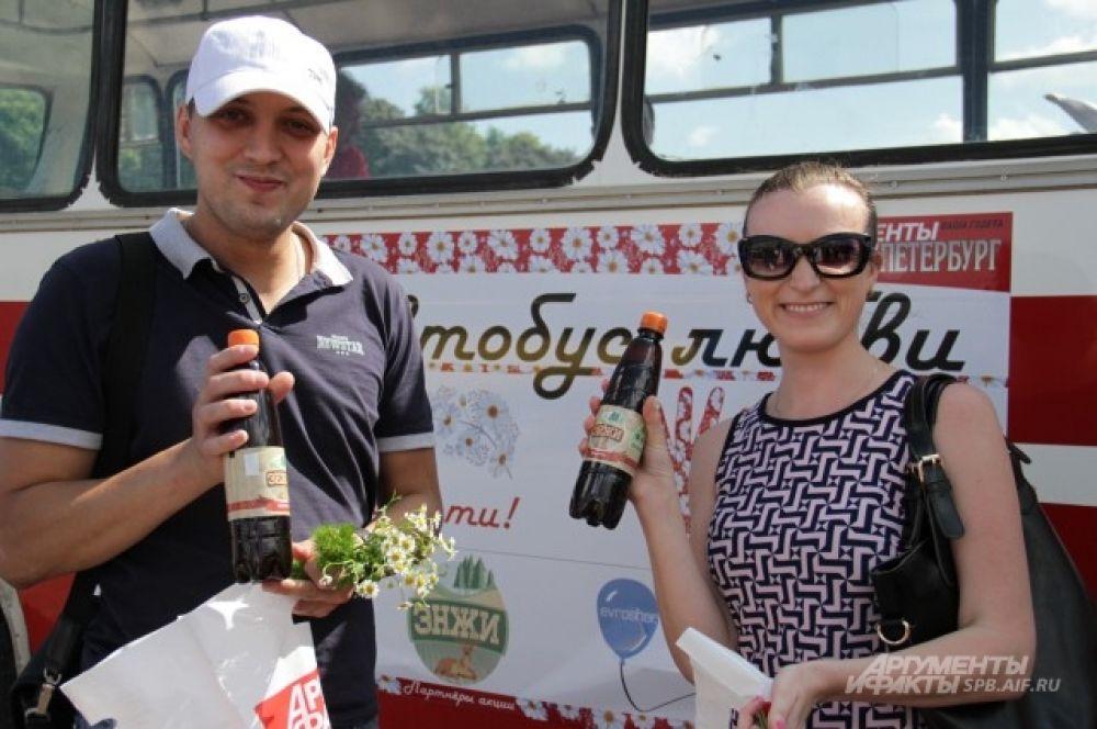Напитки «Энжи» пришлись по вкусу петербуржцам