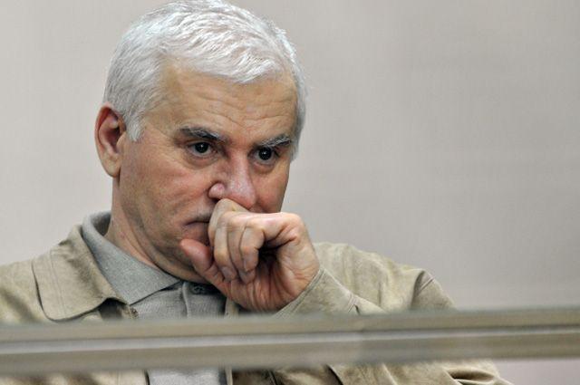 Бывший мэр Махачкалы Саид Амиров в зале суда.