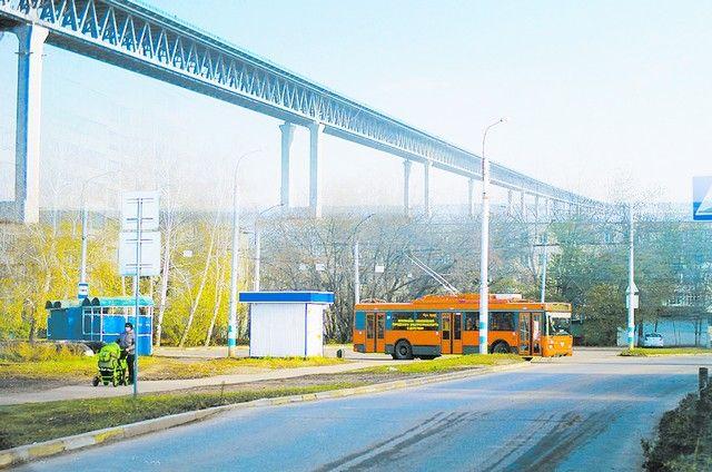 Коллаж автора: Мост где-то