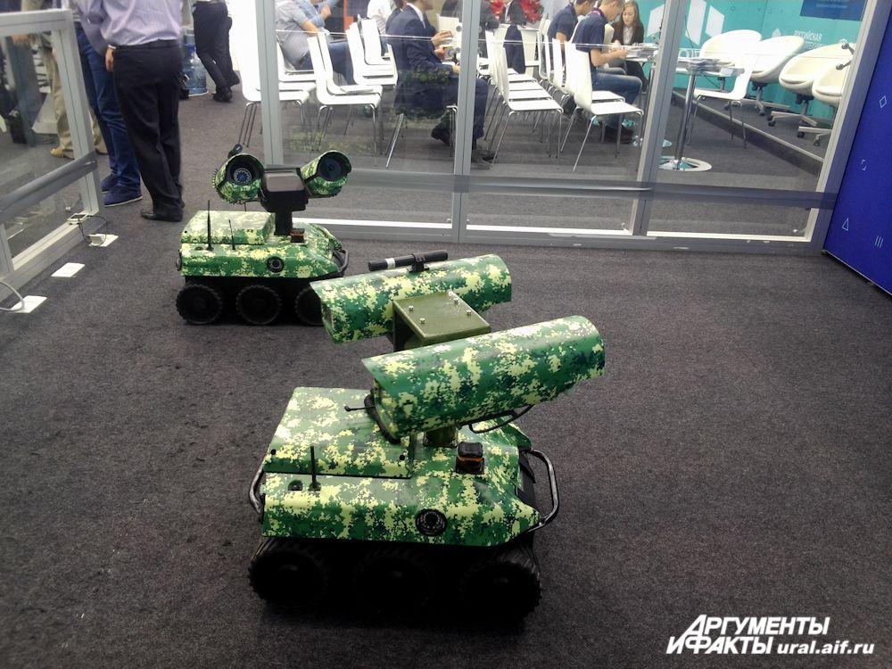 Роботы-наблюдатели на службе у военных.