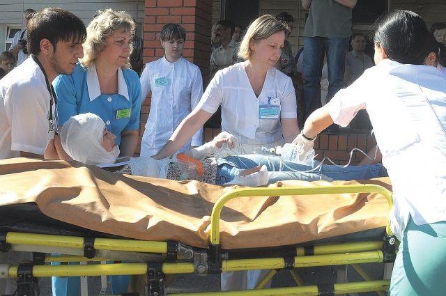 Специалисты БСМП № 1 справились с массовым наплывом пациентов.