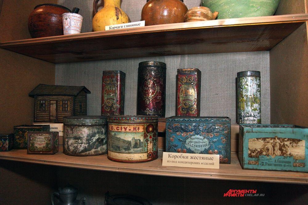Коллекция коробок из-под кондитерских карамели, меда, какао 19-20 вв