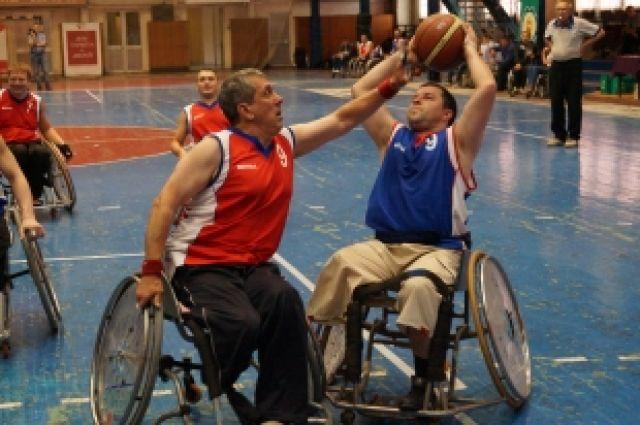 В Челябинске завершился открытый турнир по баскетболу на колясках