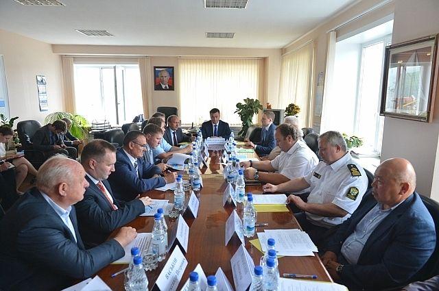 Расширенное заседание администрации Приморского края в Лазовском муниципальном районе.