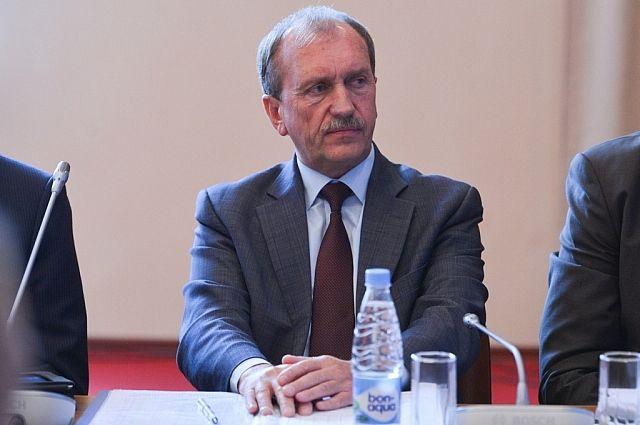 Вице-губернатор Сергей Сидоренко.
