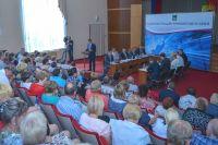 Владимир Миклушевский на встрече с жителями Михайловского района.