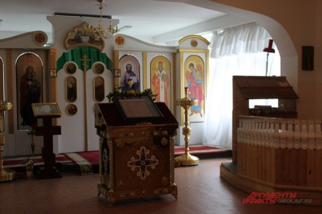 Прихожане храма своими руками создавали его.