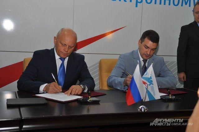 Виктор Назаров и Максим Кудрявцев соглашение о сотурудничестве.