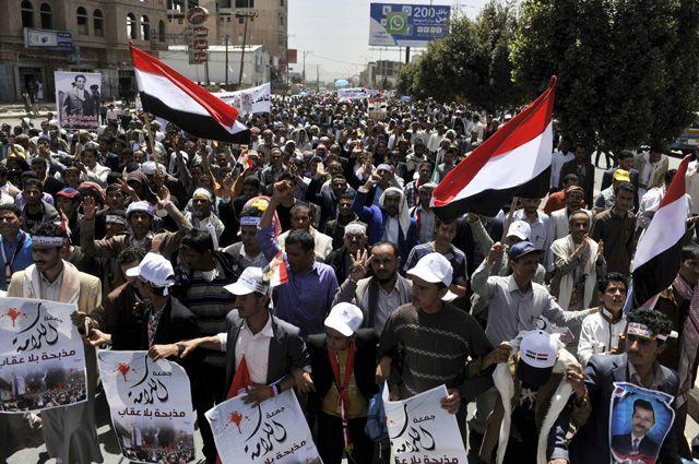 Переворот в Йемене.