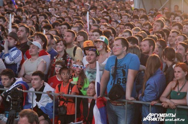 Финальные матчи ЧМ-2014 покажут в фан-зоне Екатеринбурга