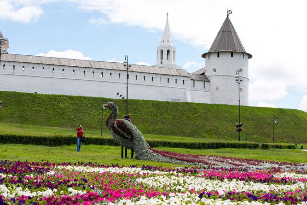 Столица Татарстана с каждым днем становится все чище и красивее
